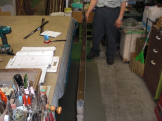 品川区の建具屋太明,施工例,玄関引戸,修理,ガラス割れた