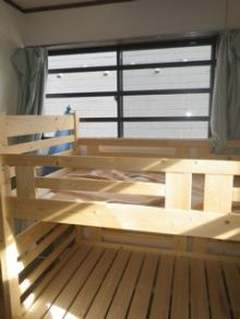 品川区の建具屋太明,施工例,落下防止,子ども部屋,アルミバー