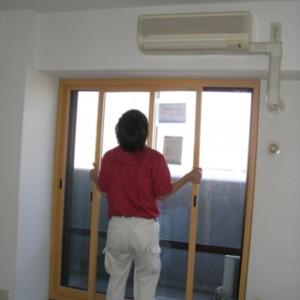 品川区の建具屋太明,施工例,マンション,騒音,内窓,インプラス,騒音対策