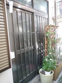 品川区の建具屋太明,施工例,玄関ドア,アルミサッシ,鍵の取り付け,カギの取り付け