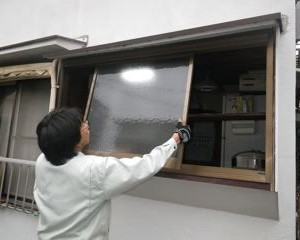 品川区の建具屋太明,施工例,ガラス戸,アルミサッシ,交換