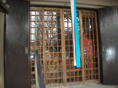 品川区の建具屋太明,施工例,上神明天祖神社,引戸の交換,神社