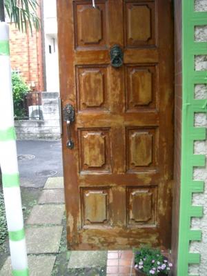 品川区の建具屋太明,施工例,木製ドアの交換,玄関ドア交換