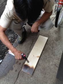 品川区の建具屋太明,建具,エイジング加工