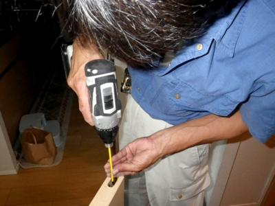 品川区の建具屋太明,施工例,横引きドア,部品交換,横引きドア修理