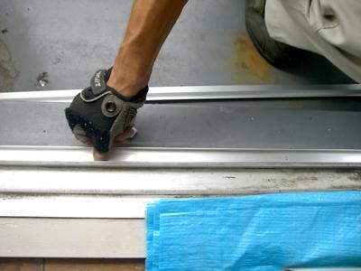 品川区の建具屋太明,施工例,アミ戸新規取り付け,網戸取り付け