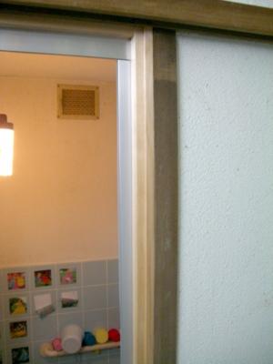 品川区の建具屋太明,施工例,浴室のドア交換,浴室のドア工事