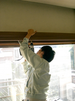 品川区の建具屋太明,施工例,カーテンボックス,窓枠