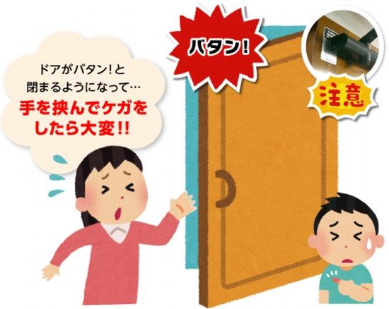 品川区の建具屋太明,ドア,ドアクローザー,ドア調節,ドア修理