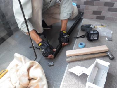 品川区の建具屋太明,施工例,戸車交換,掃き出しサッシ