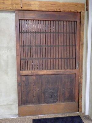 品川区の建具屋太明,施工例,店舗ドア,建具,アンティーク建具,格子