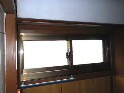 品川区の建具屋太明,施工例,木製ガラス戸交換,アルミサッシ