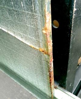 品川区の建具屋太明,ガラス修理,ガラスひび割れ,熱割れ,錆割れ