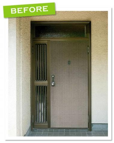 品川区の建具屋太明,玄関ドア 引戸,玄関の引戸,ドア交換,リシェント