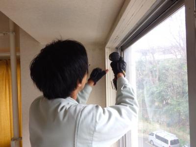品川区の建具屋太明,施工例,サッシ,隙間風対策,楽窓