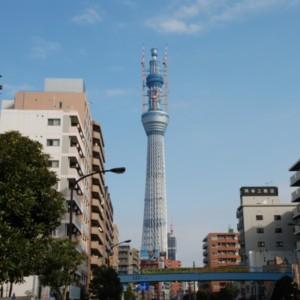 東京スカイツリー(2011年12月19日、現在514m) たいめいる2011年1月号