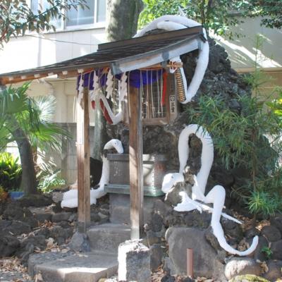 上神明天祖神社の白蛇 たいめいる2013年1月号