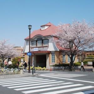 東急田園調布駅 復元駅舎(2010年3月22日) たいめいる2013年4月号