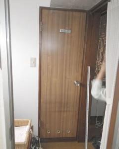 品川区の建具屋太明,施工例,トイレ,トイレドア交換,段差解消,バリアフリー化
