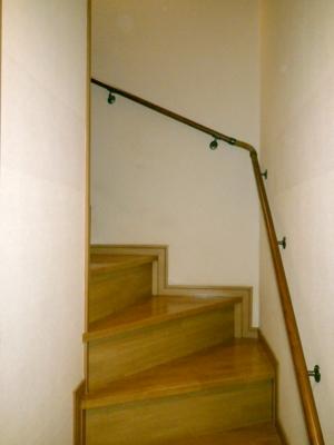 品川区の建具屋太明,施工例,手すり設置,バリアフリー,階段,浴室,お風呂