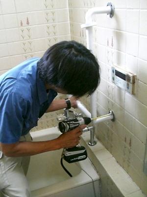 品川区の建具屋太明,施工例,お風呂,手すり設置,手摺り