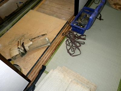 品川区の建具屋太明,施工例,畳,畳表,畳裏